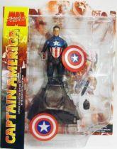 Marvel Select - Captain America (James Barnes) \'\'unmasked variant\'\'