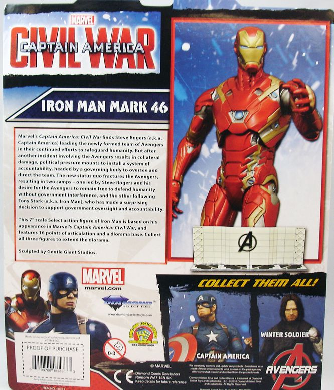 Marvel Select - Iron Man Mark 46 (Civil War)