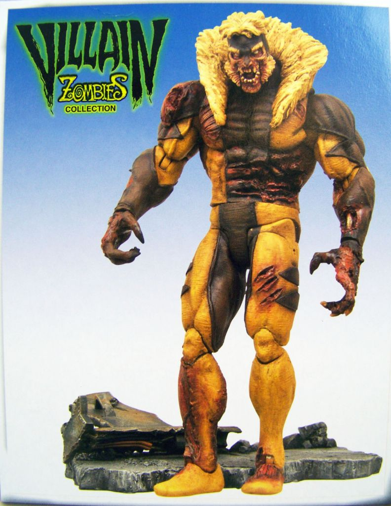 Marvel Select - Zombie Sabertooth