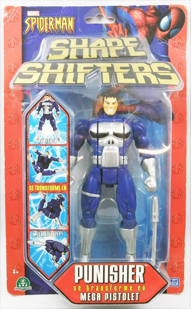 Marvel Shape Shifters - Punisher - ToyBiz