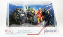 Marvel Studios - Disney Store - Set Figurines PVC Deluxe - Avengers Endgame