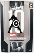 """Marvel Studios The First 10 Years - Captain America \""""Concept Art Version\"""" - Figurine 30cm Hot Toys MMS 488"""