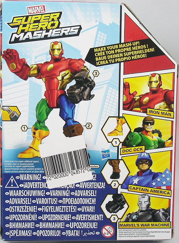"Marvel Super Hero Mashers - Iron Man ""red & gold armor\"""