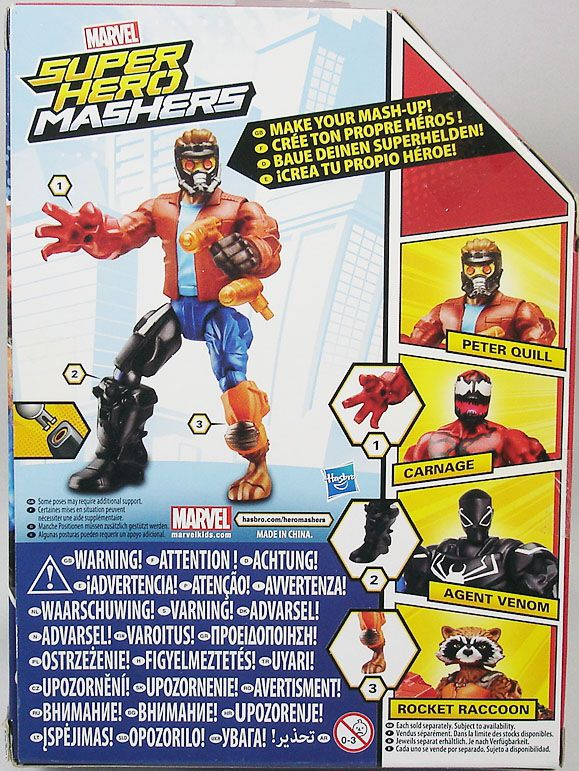 Marvel Super Hero Mashers - Peter Quill Star-Lord