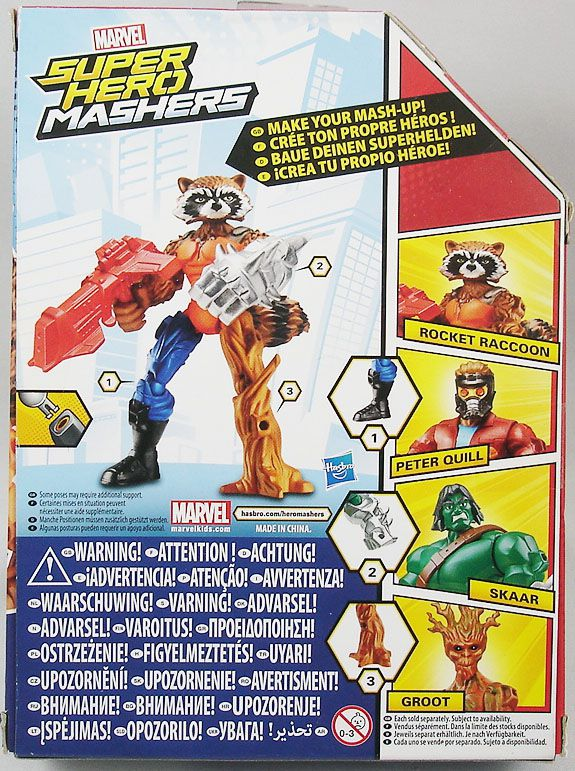 Marvel Super Hero Mashers - Rocket Raccoon