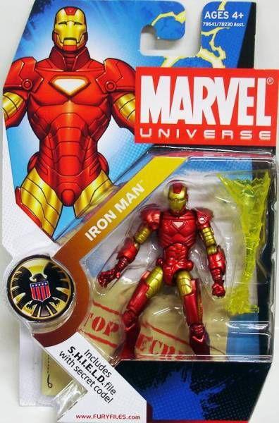 Marvel Universe - #1-001 - Iron Man