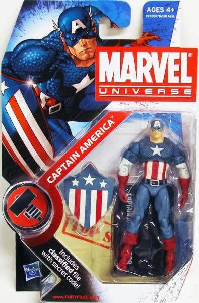 Marvel Universe - #2-008 - Captain America