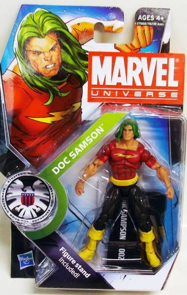 Marvel Universe - #3-002 - Doc Samson