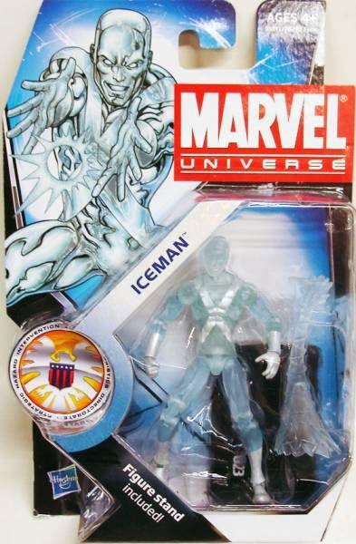 Marvel Universe - #3-023 - Iceman