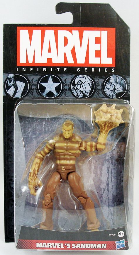 Marvel Universe - Infinite Series 1 - Sandman sand colored variant