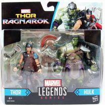 "Marvel Universe - Legends 2-pack Series - Gladiators Thor & Hulk \""Ragnarok\"""