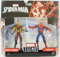 Marvel Universe - Legends 2-pack Series 1 - Shocker & Spider-Man