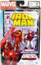 Marvel Universe Comic Pack - Iron Man #225 - Silver Centurion & Mandarin