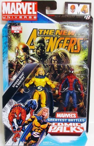 Marvel Universe Comic Pack - New Avenger #8 - Spider-Man & Sentry