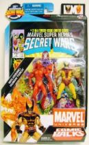 Marvel Universe Comic Pack - Secret Wars #02 - Wolverine & Human Torch