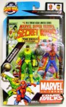 Marvel Universe Comic Pack - Secret Wars #03 - Spider-Man & Thunderball