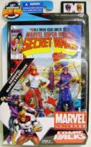 Marvel Universe Comic Pack - Secret Wars #09 - Hawkeye & Piledriver