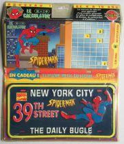 Marvel Vintage - Calculator & Collector Metal License Plate - Art & Collection 1996 Moc