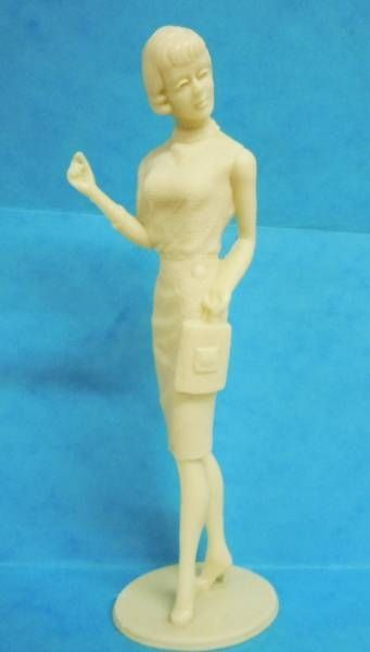Marx Toys - Campus Cuties 1964 - Shopping, Anyone?