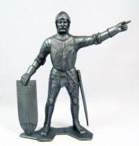 Marx Toys - Moyen-Age - Chevalier Médiéval Piéton #1 01