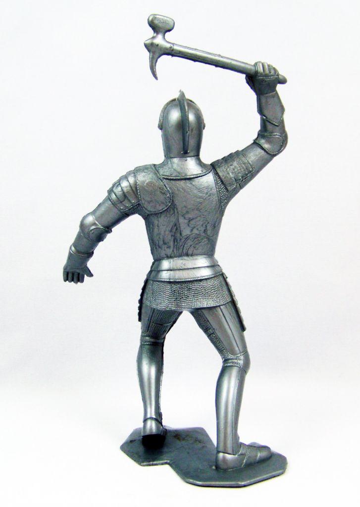 Marx Toys - Moyen-Age - Chevalier Médiéval Piéton #2 02