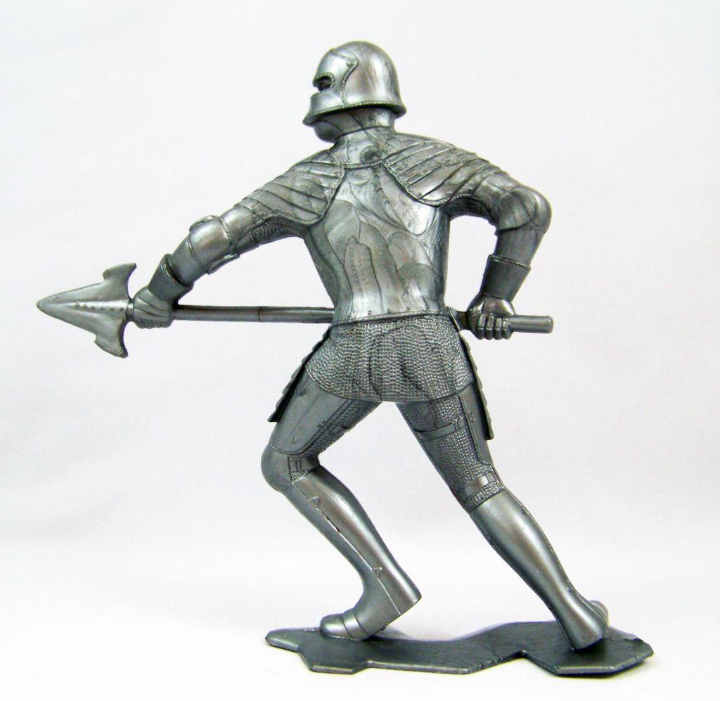 Marx Toys - Moyen-Age - Chevalier Médiéval Piéton #4 02