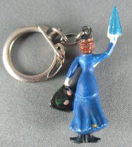 Mary Popins - Porte Clefs Figurine JIM - Mary Poppins Bleue