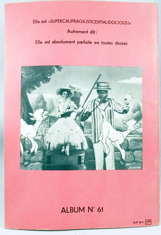 Mary Poppins - Bande dessinée - Album Walt Disney présente n°61 - 1964