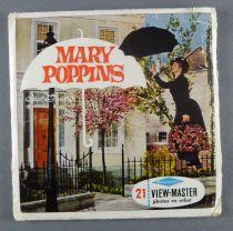 Mary Poppins - Pochette de 3 View Master 3-D