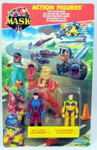 M.A.S.K. - Action Figures - Julio Lopez & Calhoun Burns