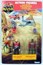 M.A.S.K. - Action Figures - Matt Trakker & Hondo MacLean