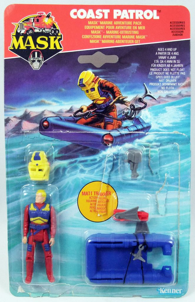 M.A.S.K. - Adventure Pack - Coast Patrol (with Matt Trakker)