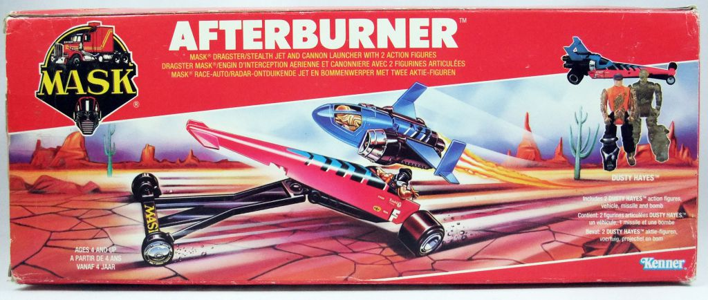 M.A.S.K. - Afterburner with Dusty Hayes & Hologram (Europe)