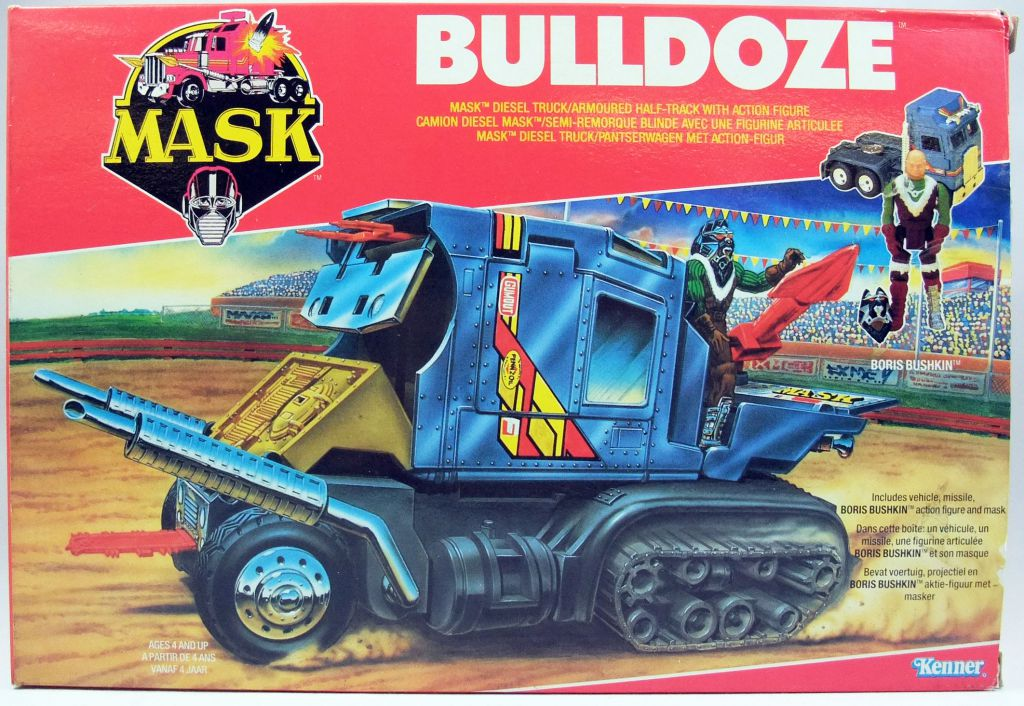 M.A.S.K. - Bulldog with Boris Bushkin (Europe)