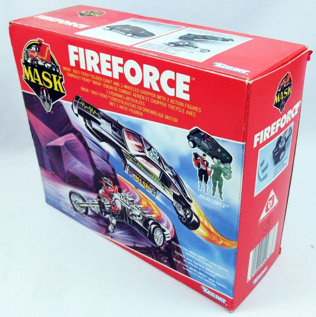 M.A.S.K. - Fireforce with Julio Lopez & Hologram (Europe)