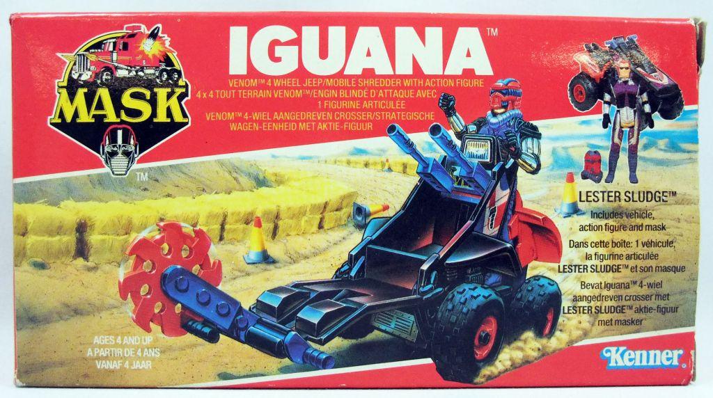 M.A.S.K. - Iguana avec Lester Sludge (Europe)