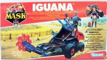 M.A.S.K. - Iguana avec Lester Sludge (loose avec boite)