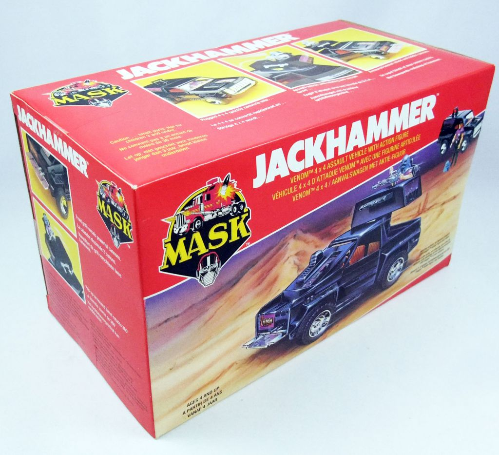 M.A.S.K. - Jackhammer with Cliff Dagger (Europe)