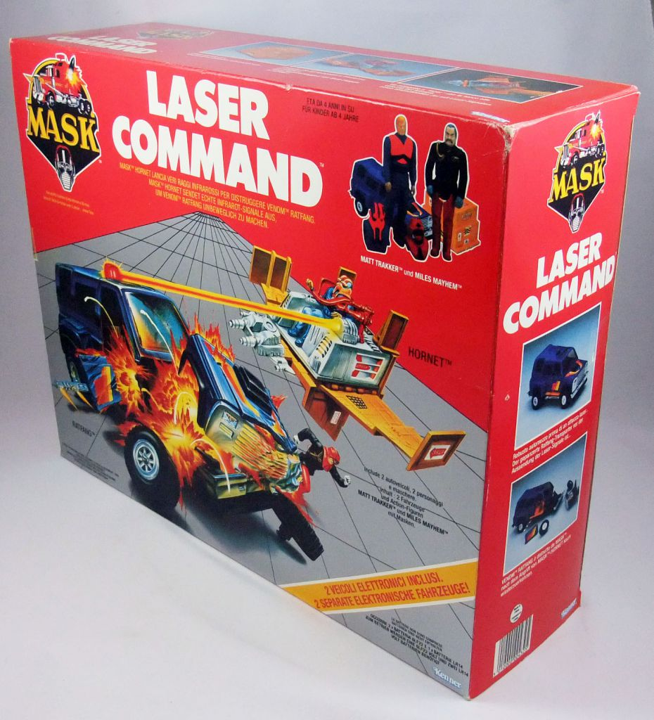 M.A.S.K. - Laser Command : Hornet & Ratfang with Matt Trakker & Miles Mayhem (Europe)