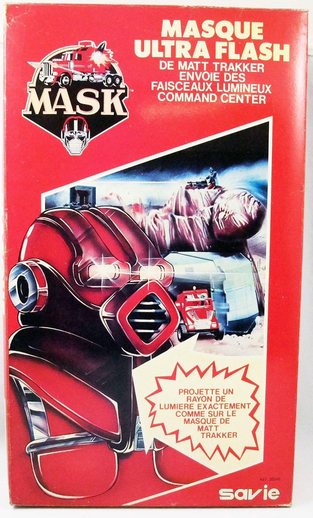 M.A.S.K. - Masque Ultra Flash - Savie (neuf en boite)