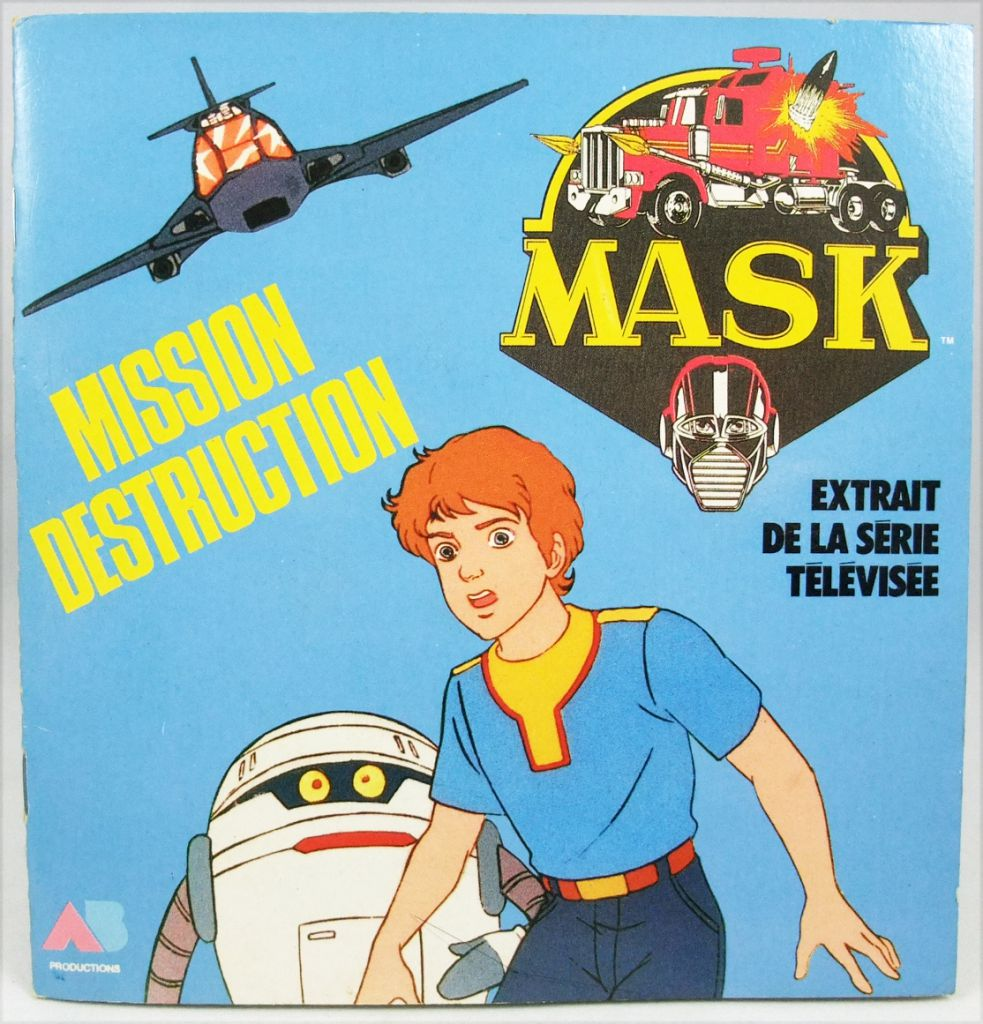 M.A.S.K. - Mission Destruction - Illustrated Booklet - AB Prod. 1986