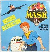 M.A.S.K. - Mission Destruction - Illustrated Booklet - AB Prod. 1986