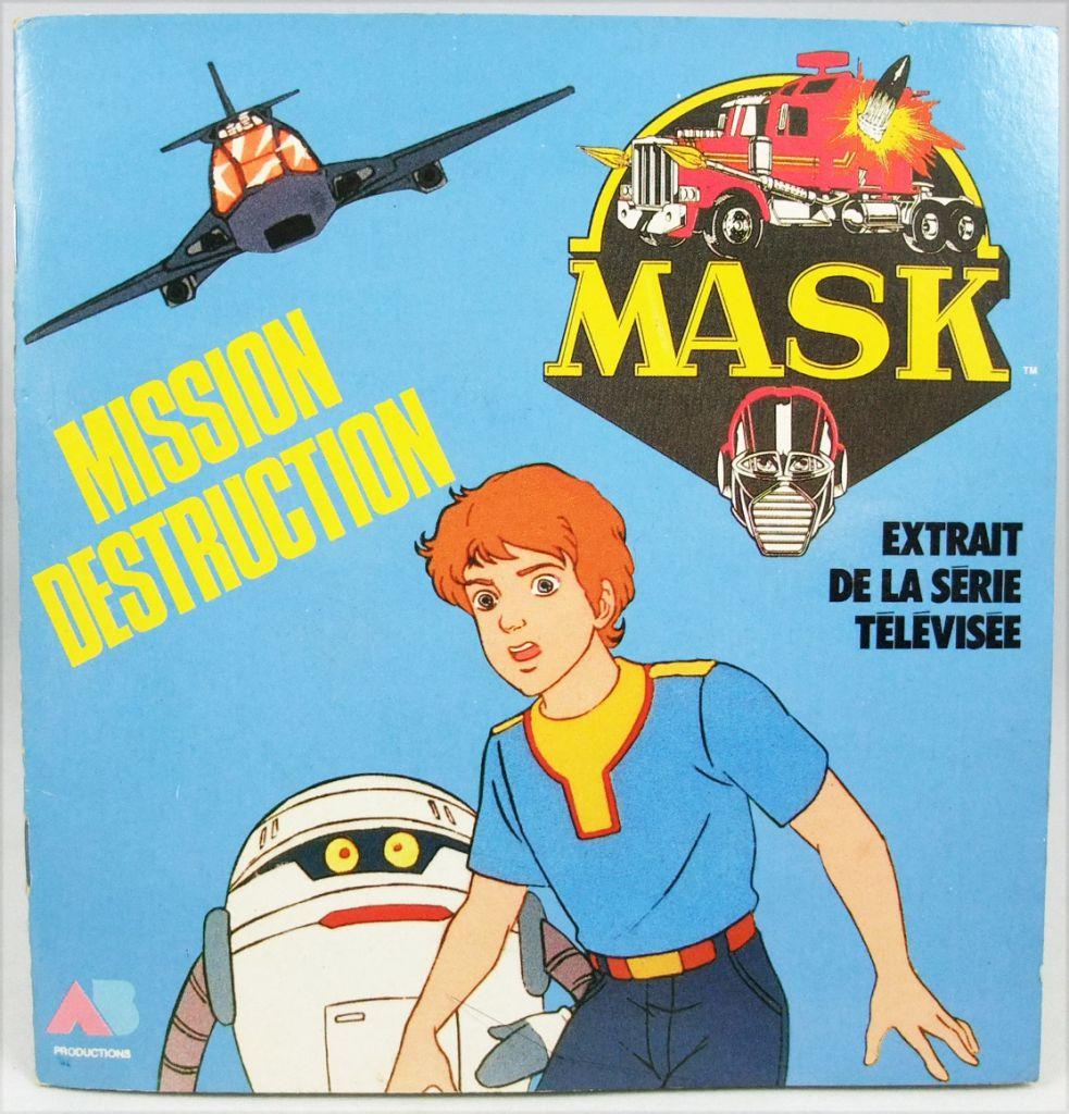 M.A.S.K. - Mission Destruction - Livret illustré - AB Prod. 1986