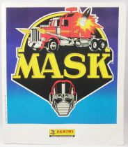 M.A.S.K. - Panini France Stickers collector book (complete with poster)