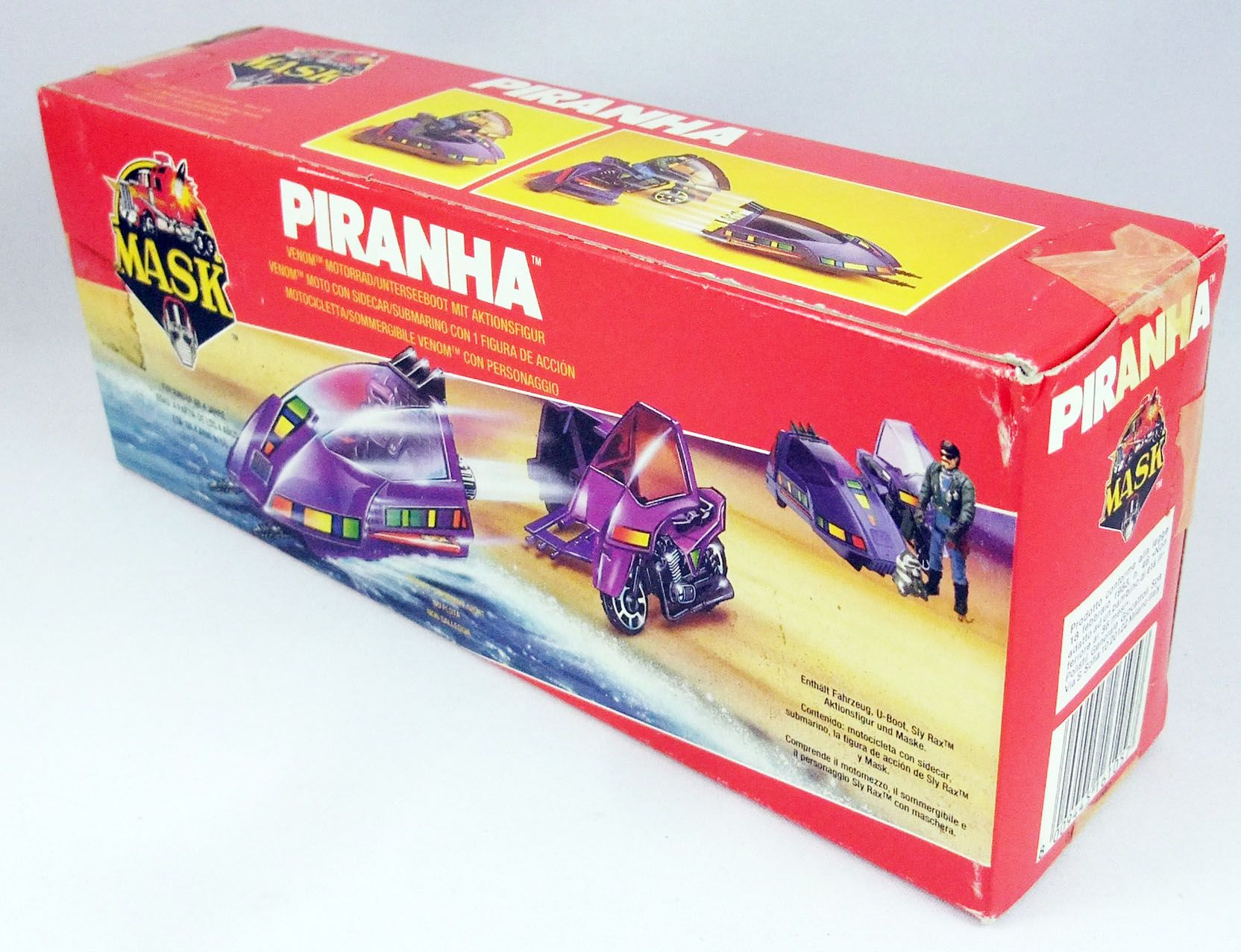 M.A.S.K. - Piranha avec Sly Rax (Europe)