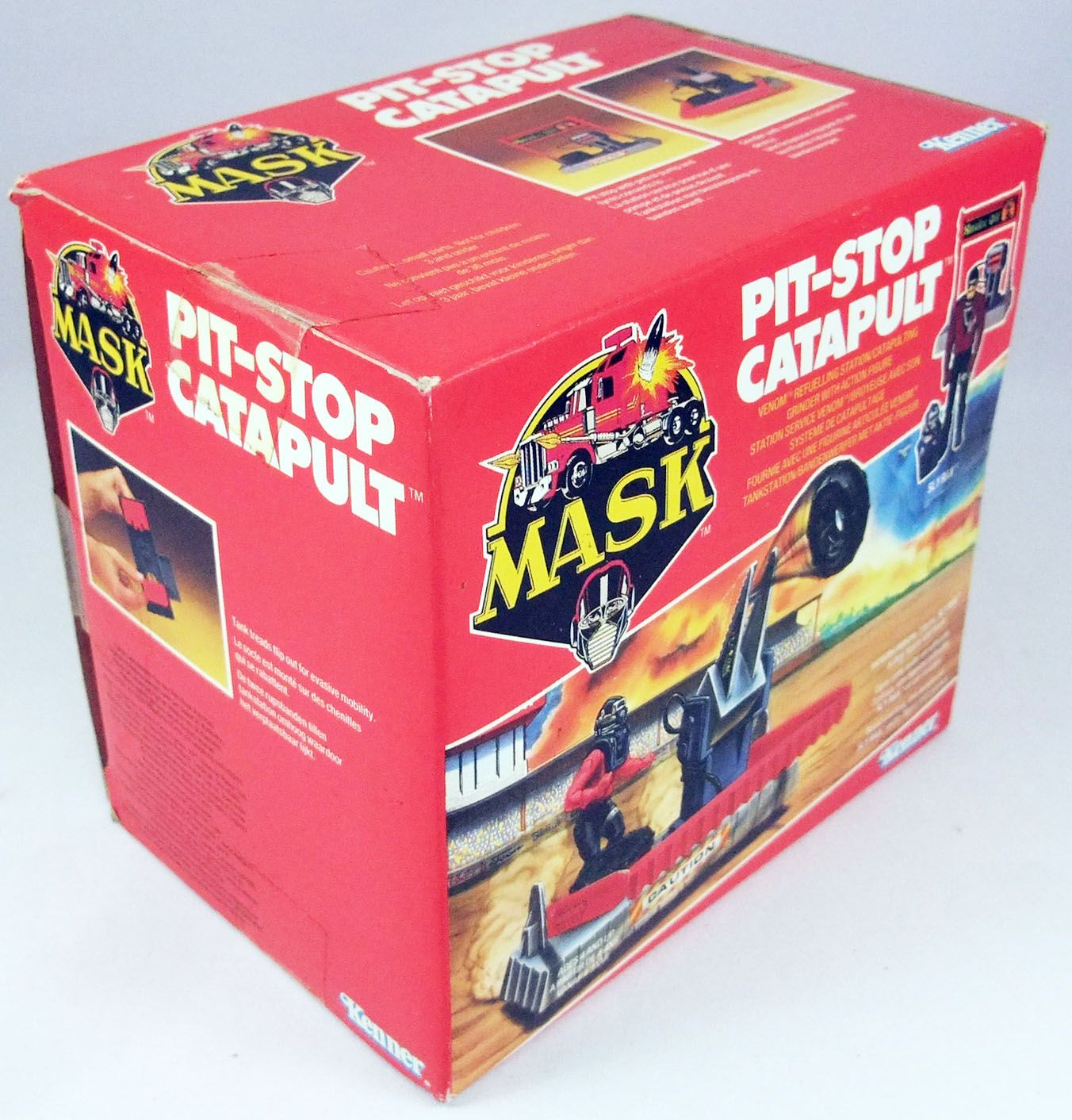 M.A.S.K. - Pit-Stop Catapult avec Sly Rax (Europe)