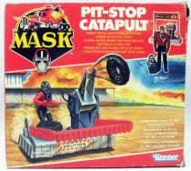 M.A.S.K. - Pit Stop Catapult avec Sly Rax (loose avec boite)