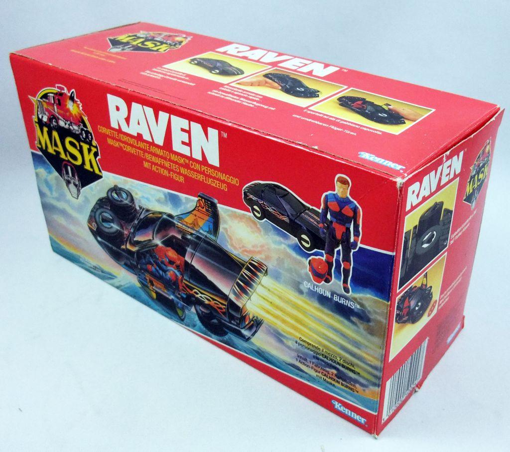 M.A.S.K. - Raven avec Calhoun Burns (Europe)