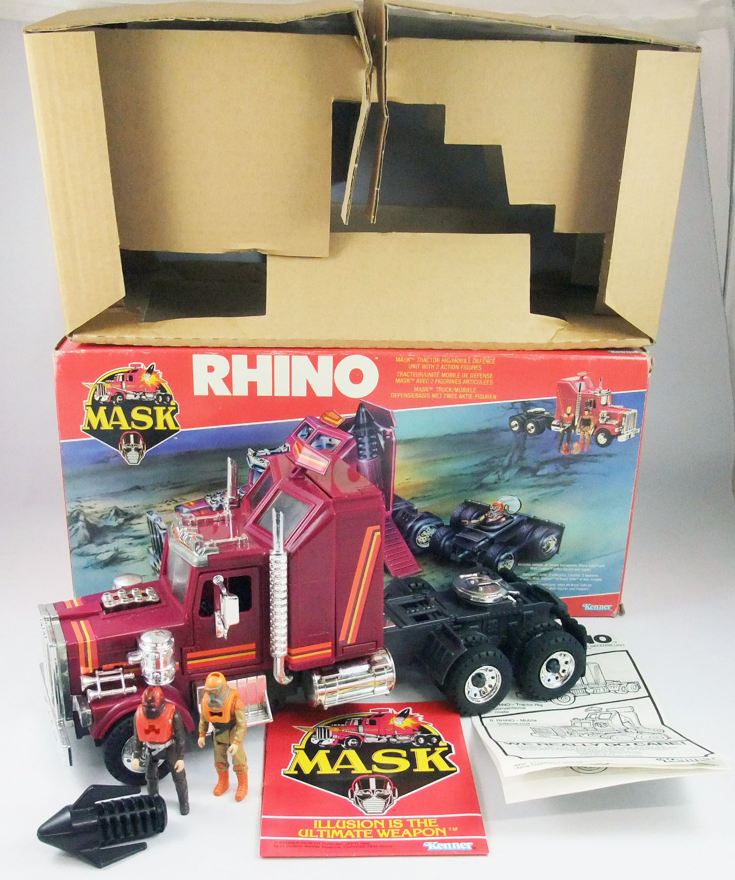 M.A.S.K. - Rhino avec Matt Trakker & Bruce Sato (Europe)
