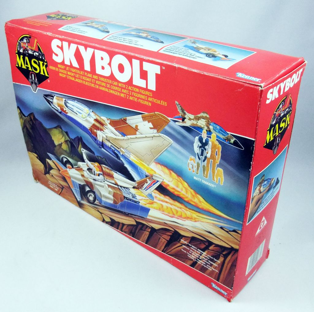 M.A.S.K. - Skybolt with Matt Trakker & Hologram (Europe)